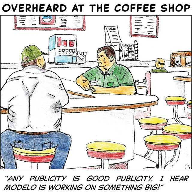 Overheard in the coffee shop