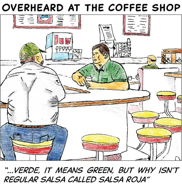 Overheard in the coffee shop - March 09 2020