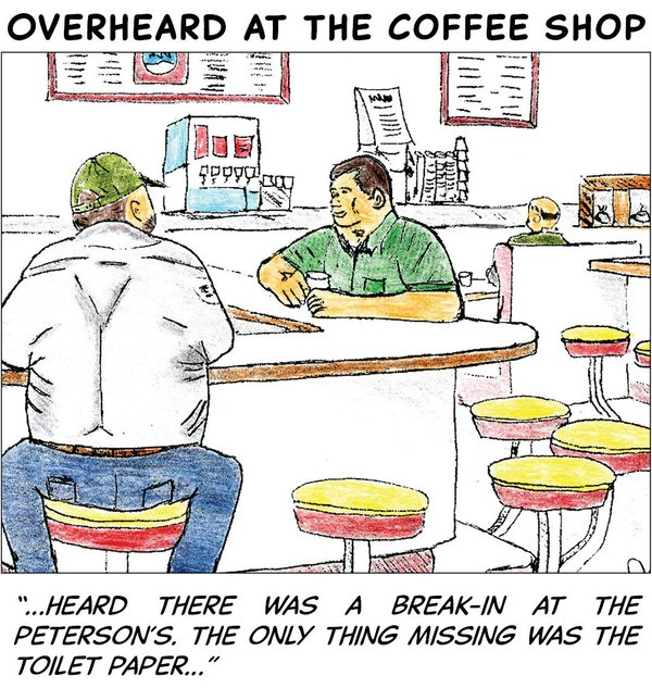 Overheard at the coffee shop - March 16 2020