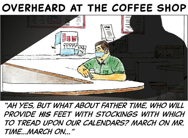 Overheard at the coffee shop - June 29 2020