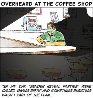 Overheard at the coffee shop - sept 14 2020