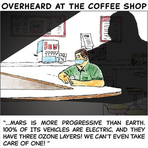 Overheard at the coffee shop - March 22 2020