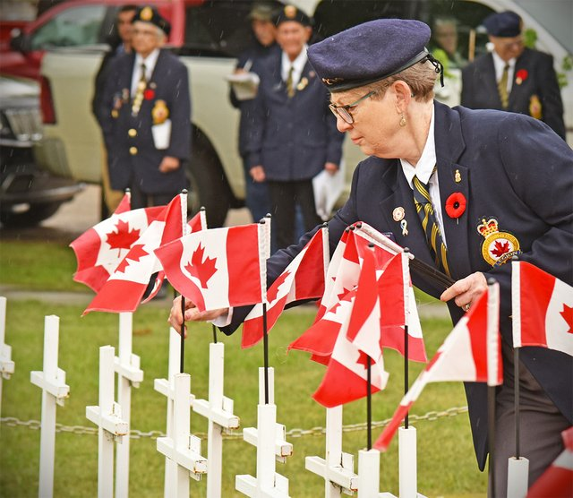 Nokomis Legion Flag day - June 2021 - Dennis Simpson.jpg