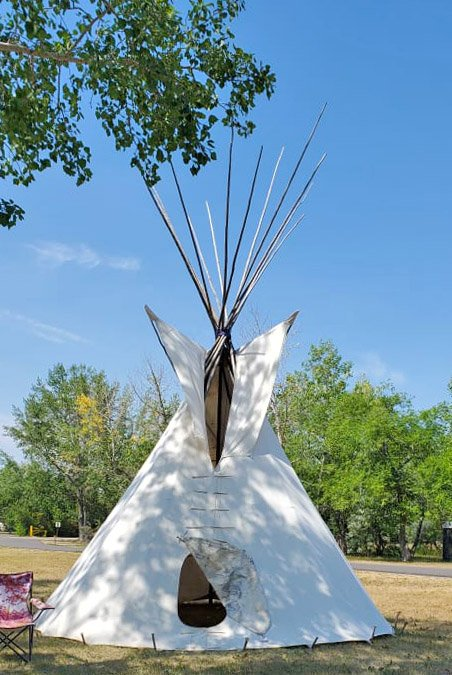 2nd Annual All Nations Gathering Traditional Powwow - Teepee - sept 6 2021.jpg